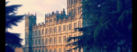 Highclere Castle is one of UK unseen.