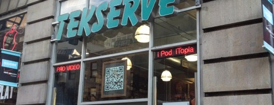 Tekserve is one of Silicon Alley, NYC.