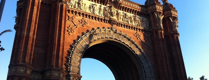Arco del Triunfo is one of Barcelona / Essentials.