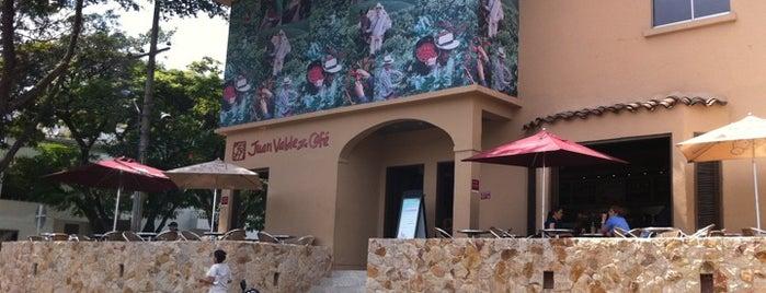 Juan Valdez Café is one of Coffe shops.