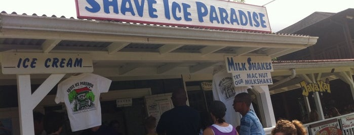Shave Ice Paradise is one of Locais curtidos por Matt.