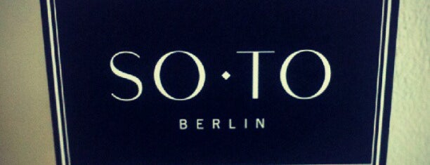 Soto Store is one of Berlin to-do list '2020.