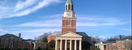 Wake Forest University is one of College Love - Which will we visit Fall 2012.