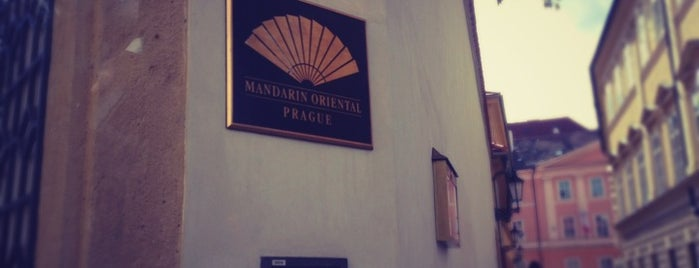Mandarin Oriental, Prague is one of Top 10 Guide to the Best Restaurants in Prague.