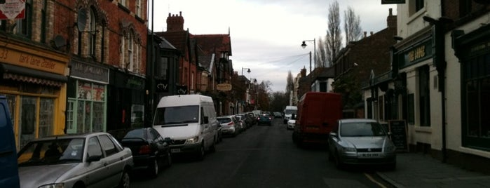 Lark Lane is one of Liverpool.