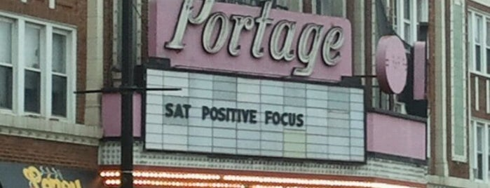 Portage Theater is one of Illinois' Music Venues.