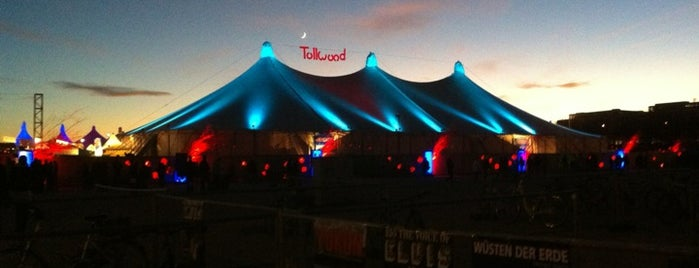 Tollwood Winterfestival is one of Munich.