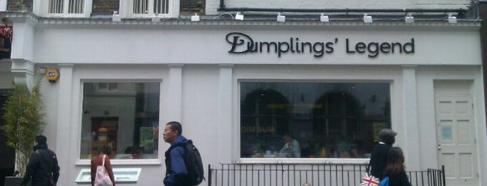 Dumplings' Legend is one of Soho/Covent Garden Lunch.