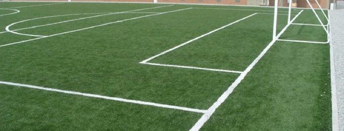 Bernabeu Cancha de futbol 7 is one of สถานที่ที่ Klawdy@ ถูกใจ.