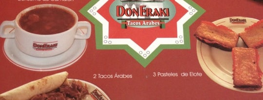 DonEraki is one of Tacos y garnachas.