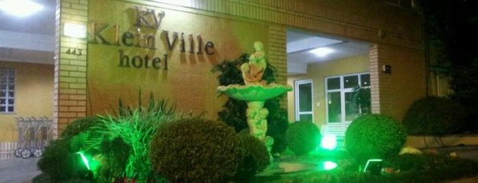Klein Ville Hotel is one of Orte, die Luis Gustavo gefallen.