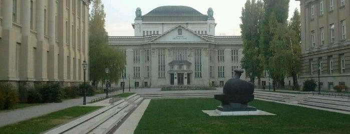 Hrvatski državni arhiv is one of Zagreb's to-do list.