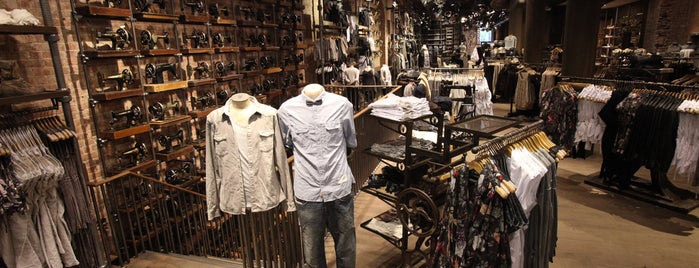 AllSaints is one of Los Angeles.