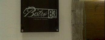 Bistró 83 is one of Al Gordito Narizón le gusta....