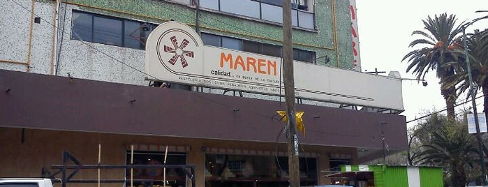 Maren is one of Lugares frecuentes.
