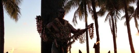 Duke Kahanamoku Statue is one of Hawaii.