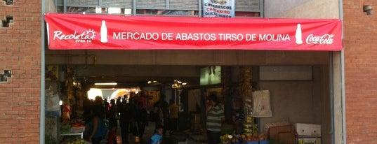 Mercado de Abastos Tirso de Molina is one of Lugares, plazas y barrios de Santiago de Chile.