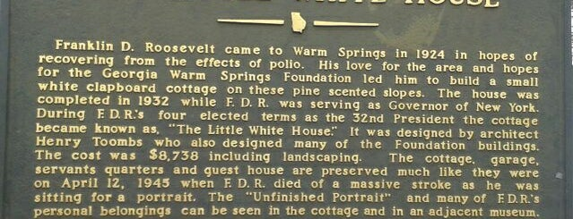 Roosevelt's Little White House Historic Site is one of Things to See.