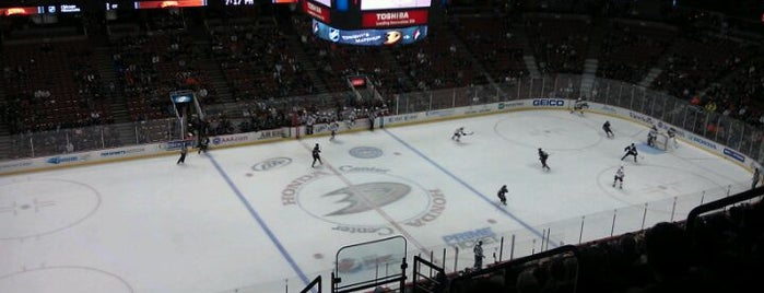Honda Center is one of US Pro Sports Stadiums - ALL.