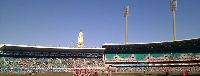 Sydney Cricket Ground is one of Australia & New Zealand.