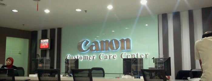 Canon Marketing (M) Sdn. Bhd. is one of iamedw'in Kaydettiği Mekanlar.