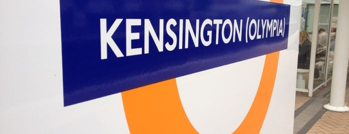 Kensington (Olympia) Railway Station (KPA) is one of Underground Stations in London.