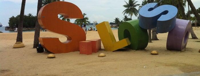 Siloso Beach is one of Singapore.