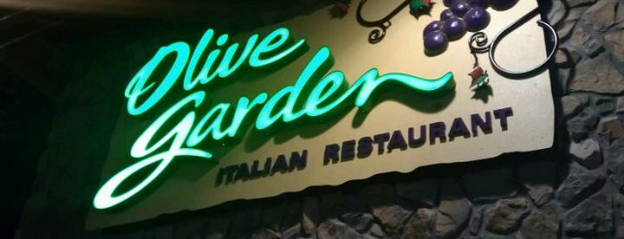 Olive Garden is one of Date night adventures!.