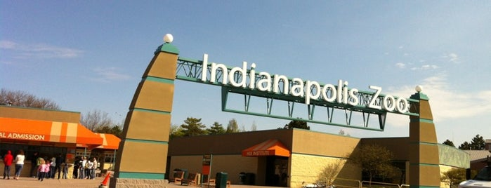 Indianapolis Zoo is one of StorefrontSticker City Guides: Indianapolis.