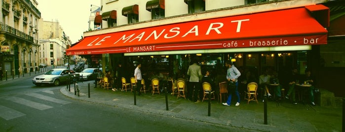Le Mansart is one of Paris delights.
