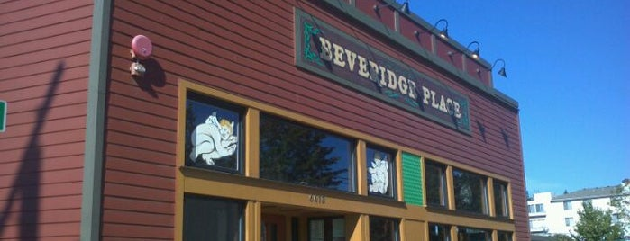 Beveridge Place Pub is one of 20 favorite restaurants.