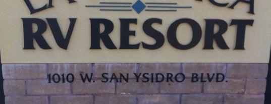 La Pacifica RV Resort Park is one of S.D..