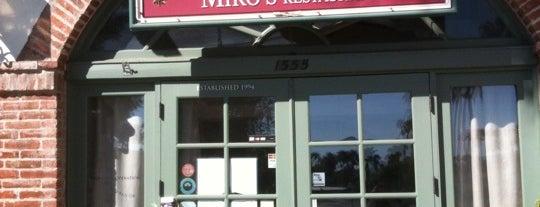 Miro's Restaurant is one of Christy 님이 좋아한 장소.