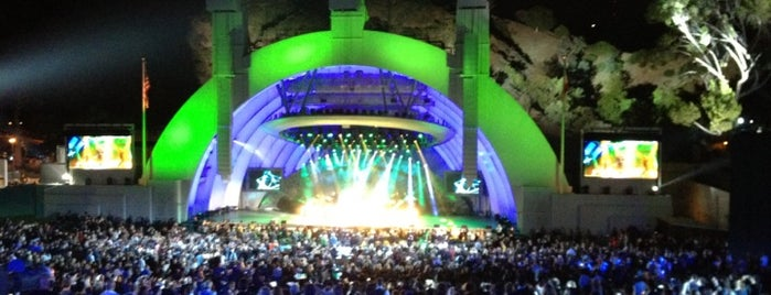 The Hollywood Bowl is one of Los Angeles's Best Music Venues - 2012.