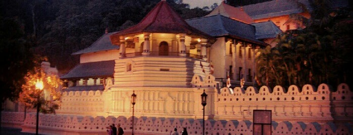 Temple of the Sacred Tooth Relic (ශ්‍රී දළදා මාළිගාව) is one of Sri Lanka.