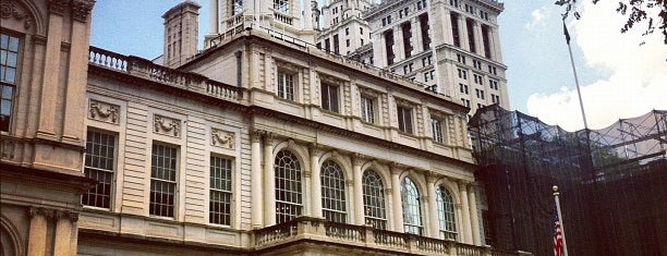New York City Hall is one of Arthur's Main list of things to do..