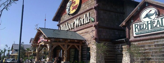 Bass Pro Shops is one of Texas.
