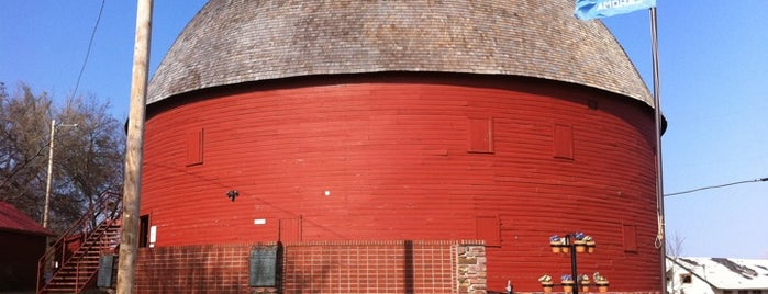 Arcadia Round Barn is one of Route 66 Roadtrip.