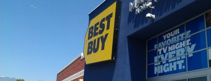 Best Buy is one of Lieux qui ont plu à Michael.