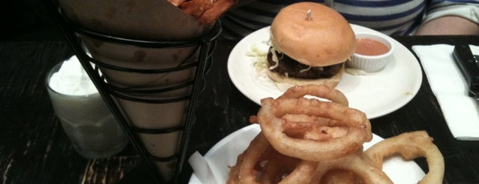 Stand 4 is one of NYC Burgers.