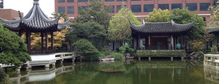 Lan Su Chinese Garden is one of Portland in 48 hours.