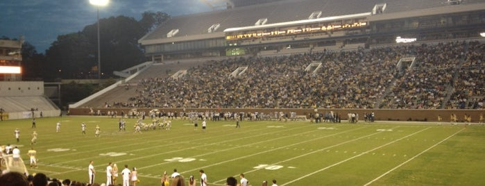 Bobby Dodd Stadium is one of Experience NCAA Teams.