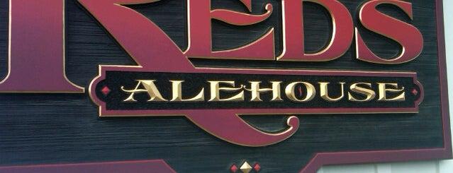 Reds Alehouse is one of Nick'in Beğendiği Mekanlar.