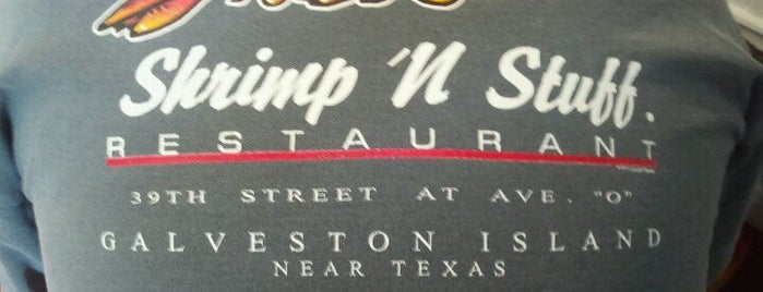 Shrimp N Stuff is one of Lugares favoritos de Zerrin.