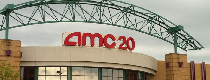AMC Town Center 20 is one of Tempat yang Disukai Stephen.