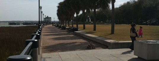 Waterfront Park is one of Top 10 favorites places in Charleston, SC.