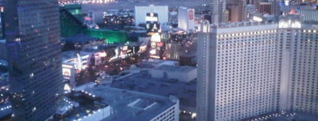 ARIA Lobby Bar is one of Great Vegas Views.