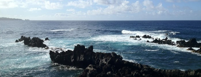 Hana Beach Park is one of Hawaii vacation.