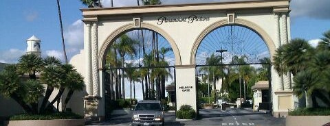 Jaguar British Invasion Party @ Paramount Studios is one of CitySights LA Hollywood Loop.