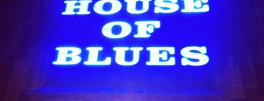 House of Blues is one of The Clubs.